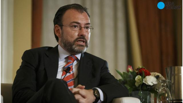 "Mexico's Foreign Minister Luis Videgaray said on Wednesday that the country ""will not accept new unilateral"" U.S. immigration policies."