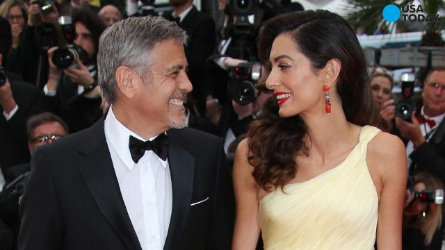 George Clooney is opening up about becoming a father for the first time - in his 50s. 'It's going to be an adventure' he said.