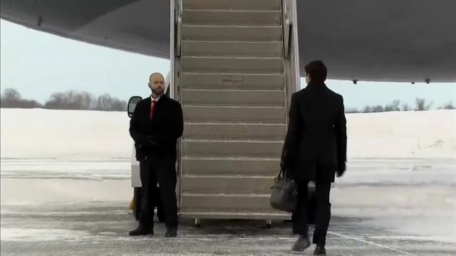 Raw: Canadian PM Trudeau leaves for D.C. visit
