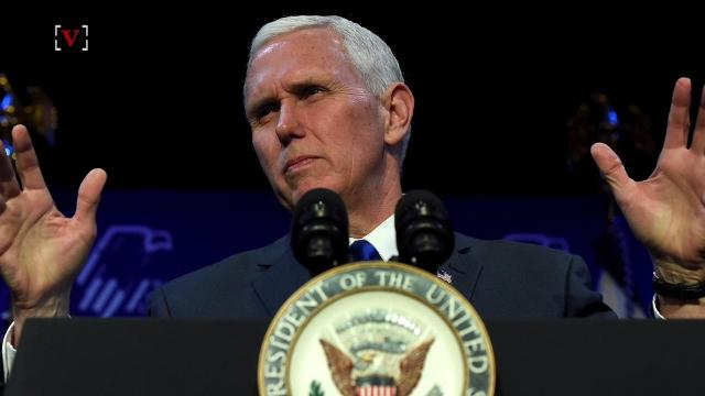 Mike Pence's social media team is in hot water after the official Vice Presidential Twitter account  posted the Nicaraguan flag instead of the Israeli flag not once but twice. Sam Berman has more.
