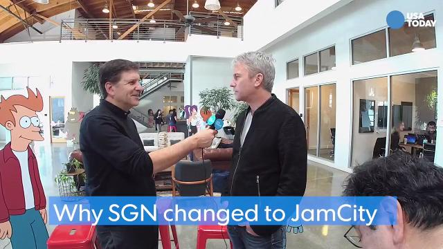In this excerpt from his #TalkingTech Live broadcast, Jam City co-founder Chris DeWolfe explains why he changed the name of the company from SGN Games.