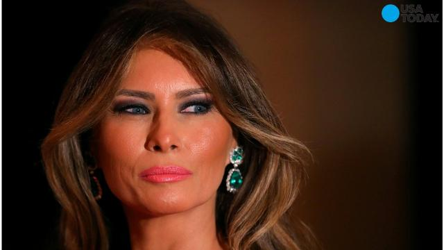 Melania Trump's developing role as first lady took an unconventional turn when she wasn't in Washington to escort the wife of the visiting Japanese prime minister around town, a typical FLOTUS responsibility.