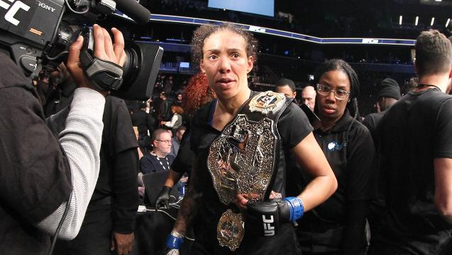 The problem with Germaine de Randamie's UFC title reign