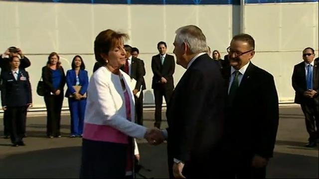 Raw: Secretary Tillerson Arrives in Mexico City