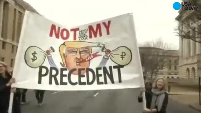 """What to expect from """"Not My Presidents Day"""" rallies"""