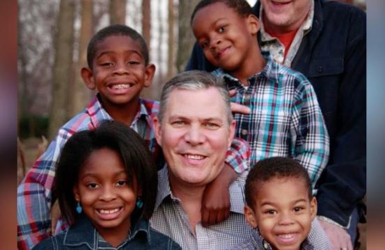 Dad adopts four kids, gives them childhood he never had
