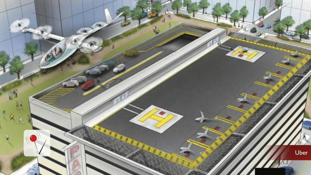 Uber flying car project recruits NASA engineer