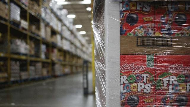 The company disclosed a new plan to move away from direct store delivery.