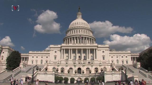 It turns out, members of Congress are flying around the globe a whole lot more. Veuer's Nick Cardona tells us just how much it's costing taxpayers.