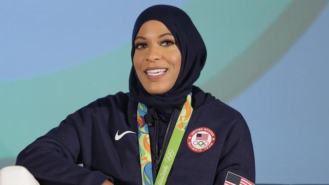 U.S. Olympic fencer Ibtihaj Muhammad told website Popsugar that she was detained a few weeks ago at U.S. Customs for two hours with no explanation.