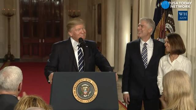 A Conservative Supreme Court Could >> President Trump Neil Gorsuch Is My Supreme Court Nominee