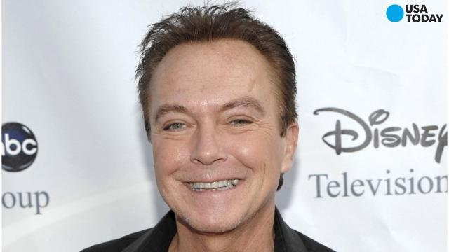 """Former """"Partridge Family"""" star David Cassidy says he's struggling with memory loss."""
