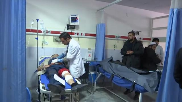 A suicide bomber targeted the Supreme Court building in the Afghan capital, Kabul on Tuesday, killing at least 19 people, officials said. (Feb. 7)