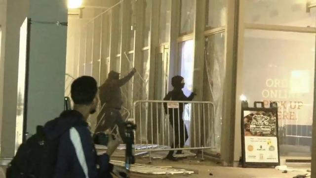UC Berkeley: Small group behind protest violence