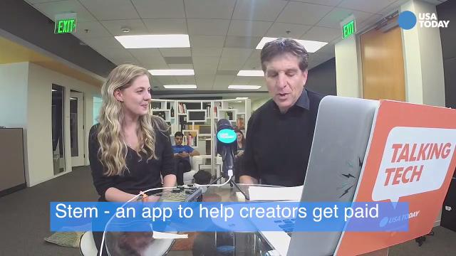 In this excerpt from the #TalkingTech Live broadcast, Milana Rabkin, the founder of the Stem app, talks about how she helps video creators and musicians get paid for their online work.