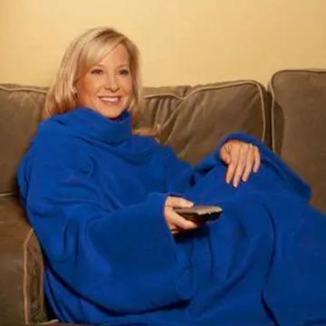 The blankets with sleeves are officially just blankets.