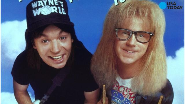 It is the 25th anniversary of the movie 'Wayne's World.'