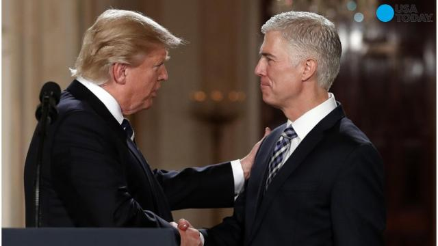 SCOTUS nominee doesn't like Trump's judiciary comments