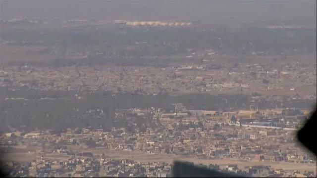 Raw: Mattis Makes Surprise Visit to Baghdad