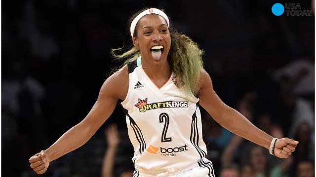 Candice Wiggins said her experience playing in the WNBA was 'toxic' and was a major reason why she retired last season. She said she was targeted throughout her career for being heterosexual and popular.