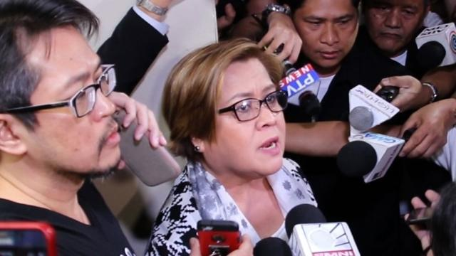 """The highest-profile critic of Philippine President Rodrigo Duterte's brutal drug war is arrested on charges supporters say are meant to silence her, but she vows to keep campaigning against killings and """"repression"""". Video provided by AFP"""