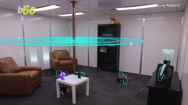 Disney Research scientists gives wireless charging a whole new meaning by building a room that automatically charges your phone as soon as you walk in! Buzz60's Djenane Beaulieu (@djenanebeaulieu) reports.