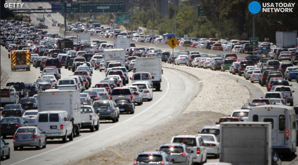 A new study shows how many hours drivers are losing to traffic.