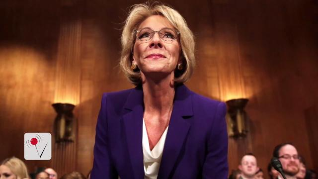 Trump's Education secretary pick cleared for confirmation vote