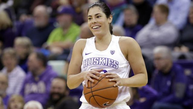 Kelsey Plum close to surpassing NCAA women's basketball career scoring mark