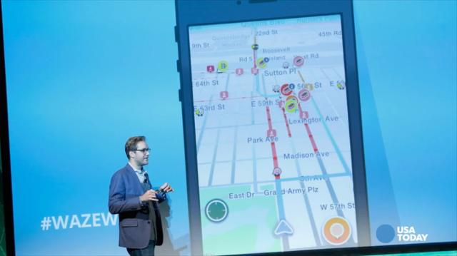 how to use waze with uber