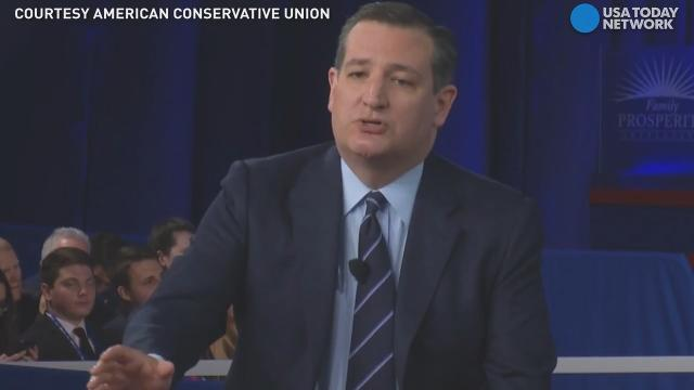 Ted Cruz calls for term limits in Congress