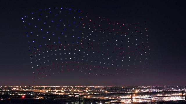 Can we talk about the drones in Lady Gaga's halftime Show?