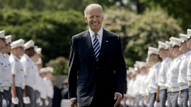 Joe Biden going back to school