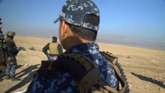 Raw: Iraqi Troops Move on West Mosul