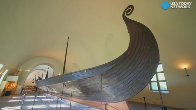 The Oseberg Viking ship was discovered in 1904, when