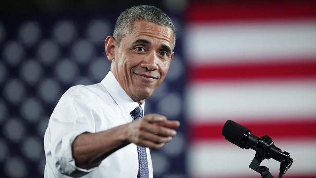 In presidential rankings, Barack Obama is near the top