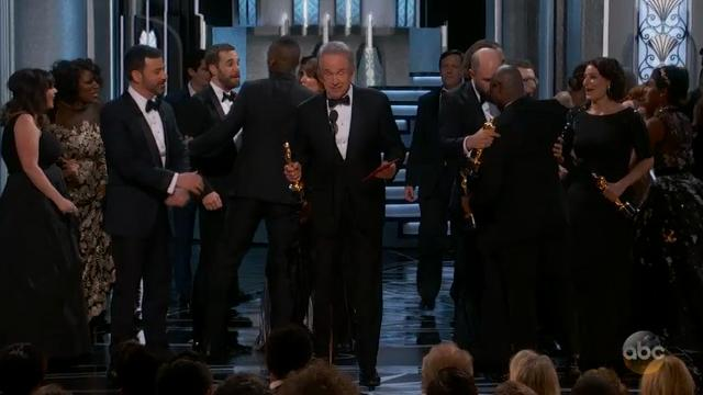 'Moonlight' wins best picture at botched Oscars