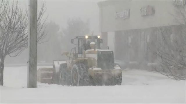 Connecticut Gov. Dannel Malloy is asking residents to stay inside and off the roads.  He says so far utility companies are reporting very few power outages as a major Nor'easter snow storm roars up the coast. (Feb. 9)