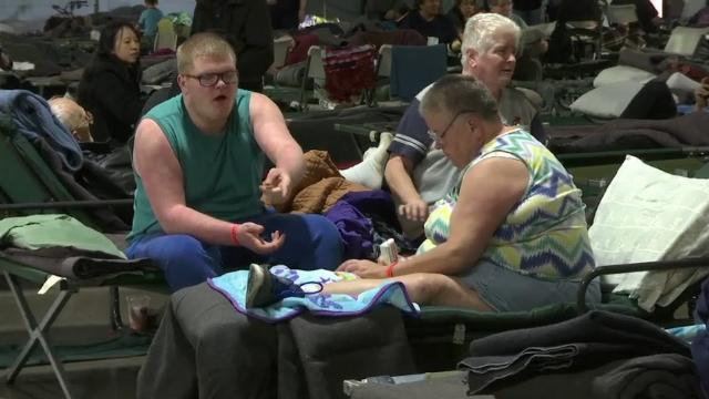 Residents Wait-Out Dam Emergency in Shelters