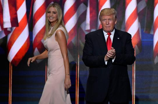 President Trump has come to his daughter's defense. Angeli Kakade (@angelikakade) has the story.
