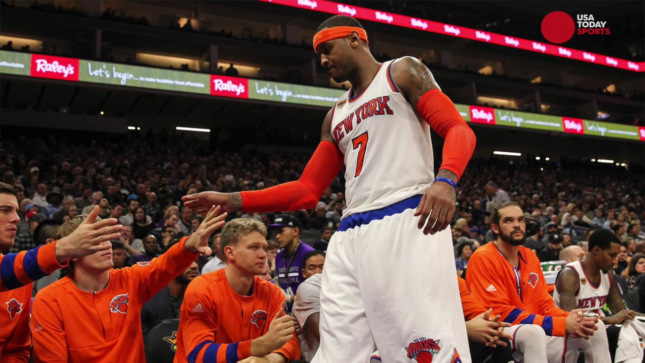 Will Carmelo Anthony remain with the Knicks?