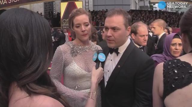 Ted Melfi, the director of 'Hidden Figures' reflects on the reception the film has received while speaking with USA TODAY on the red carpet at the Academy Awards.