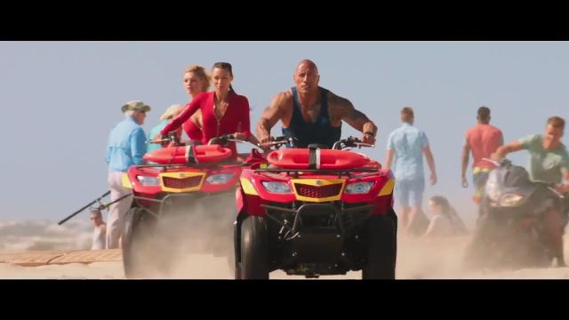 Paramount debuts it's trailer for the upcoming movie Baywatch.