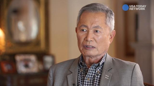 'Never again': George Takei recalls his youth in a barbed wire Japanese-American internment camp, and draws parallels to Trump's recent travel ban.