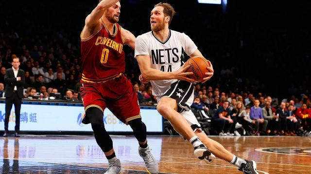The Wizards have acquired Nets shooting guard Bojan Bogdanovic and forward Chris McCullough in exchange for forward Andrew Nicholson, guard Marcus Thornton and a 2017 first-round pick, The Vertical's Adrian Wojnarowski reports.