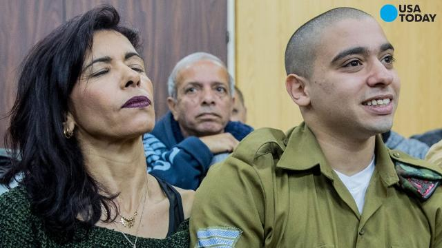 The Israeli soldier, Sgt. Elor Azaria, who was convicted of manslaughter in the fatal shooting of wounded Palestinian, 21-year-old Abdel Fattah al-Sharif, in a knife attack, has been sentenced to 18 months in military prison.