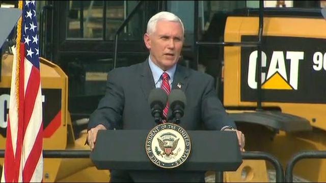 Pence lauds small business during Missouri visit