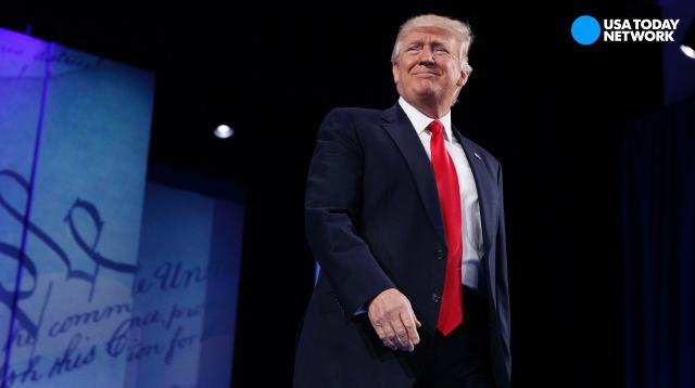 President Trump reminds us after CPAC speech 'You can't always get what you want.'