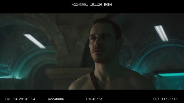 Callum Lynch (Michael Fassbender) and others take the oath in an exclusive deleted scene from the action film 'Assassin's Creed.'