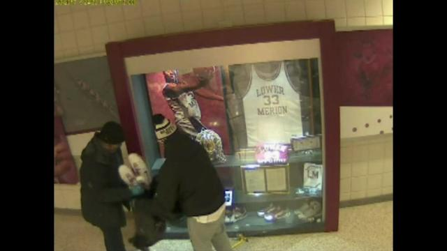 Raw: Thieves Steal Kobe Bryant Memorabilia
